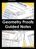Geometric Proof Guided Notes BUNDLE