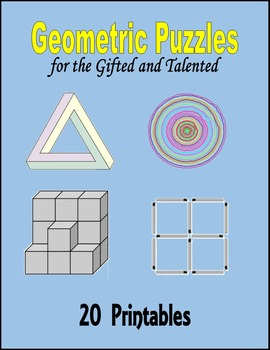 Geometric Puzzles for the Gifted and Talented