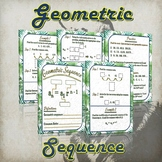 Geometric Sequence - (Guided Notes and Practice)