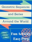 Geometric Sequences and Series Around the World Activity-1