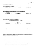 Geometric Sequences - Assignment