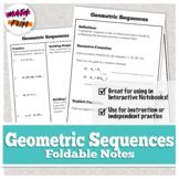Geometric Sequences (Recursive and Explicit Formulas)
