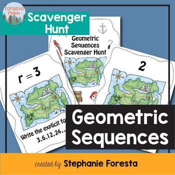 Geometric Sequences Scavenger Hunt