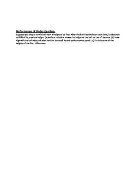 Geometric Series - Notes