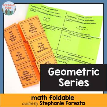 Geometric Series Foldable