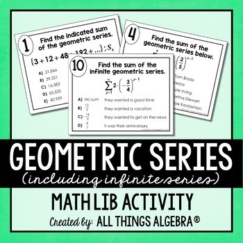 Geometric Series Math Lib