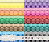 FREE Geometric Background Set 1