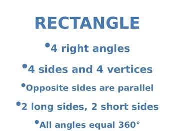 Geometric Shape Attributes