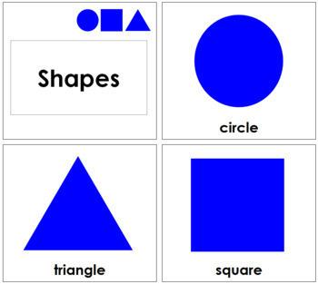 Geometric Shapes - Toddler