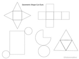 Geometric Shape Cut-Out Printable