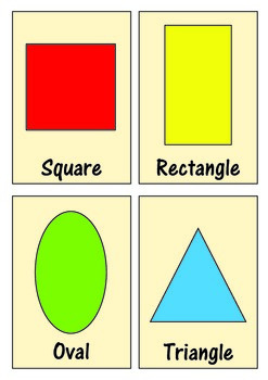 Geometric Shape Flashcards