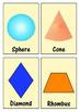 Geometric Shape Flashcards