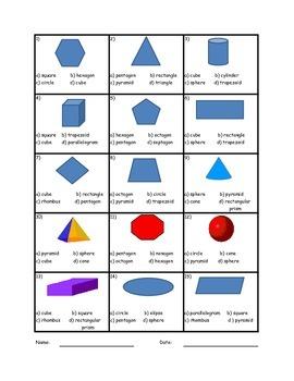 Geometric Shape Indentification