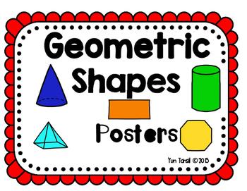 Geometric Shape Posters