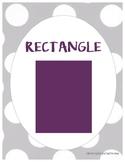 Geometric Shape Posters - FREE