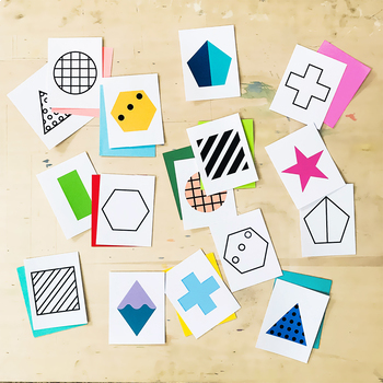Geometric Shape Printable Activity Pack