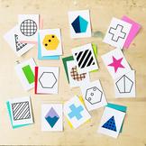 Geometric Shape Printable Activity Pack