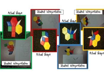 Math stations: Geometric Shape See,Run,Do Full activity