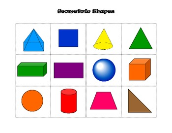 Geometric Shape Sort