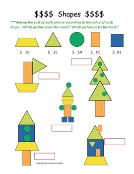 Geometric Shapes 2-D Plane Figures