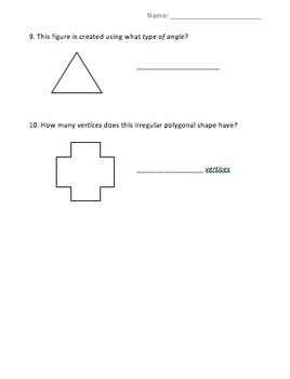 Geometric Shapes - 2nd Grade