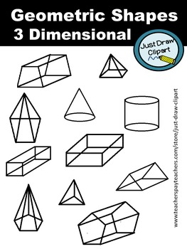 Geometric Shapes - 3 Dimensional