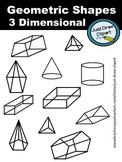 Geometric Shapes - 3 Dimensional