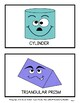 3D Shapes - 3D Shapes with Faces - Wall Displays - Grades 1-6 (1st-6th Grade)
