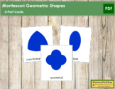 Geometric Shapes: 3-Part Cards