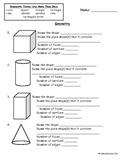 Geometric Shapes Assessment