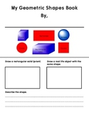 Geometric Shapes Book - Plane (2D) and Solid (3D) Shapes