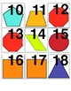 Geometric Shapes Calendar and Math Patterning Cards