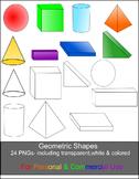 Geometric Shapes Clip Art