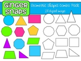 Geometric Shapes Clip Art Set