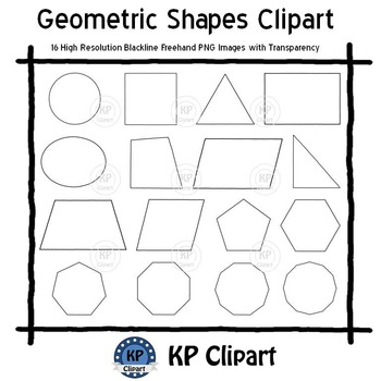 Geometric Shapes Clipart [KPclipart]