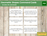 Geometric Shapes: Command Cards