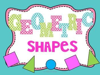 Geometric Shapes - Common Core Aligned!