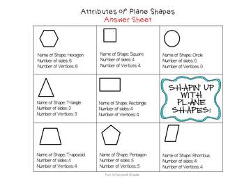 Geometric Shapes - Common Core Aligned!
