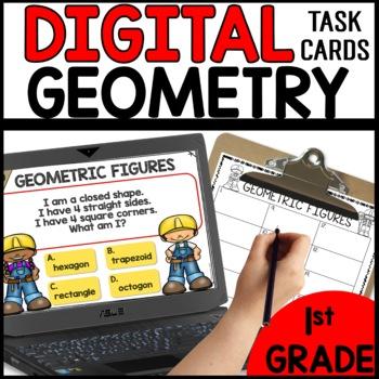Geometric Shapes  DIGITAL TASK CARDS