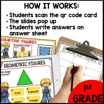 Geometric Shapes  DIGITAL TASK CARDS