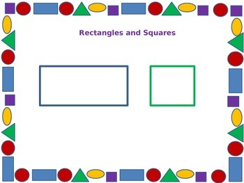 Geometric Shapes, Draw Using Shapes with Student Worksheet