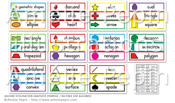 Geometric Shapes - Illustrated Word Wall (33)