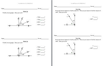 7th Grade Geometry: Angles in Geometric Figures
