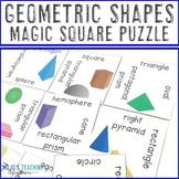 3D Shapes Activities, Worksheets Alternatives, or Math Cen