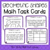 3rd Grade Geometric Shapes Task Cards | Geometric Shapes C