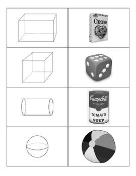 Geometric Shapes Memory Game