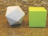 Geometric Shapes (Nets) - Silhouette Studio File