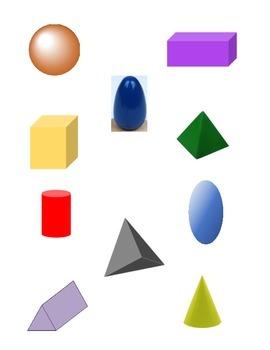 Geometric Shapes Packet