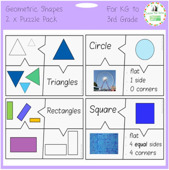 Geometric Shapes Puzzle Pack