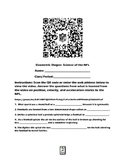 Geometric Shapes-Science of the NFL QR Code Video Worksheet